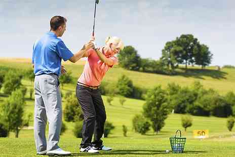 Lee Westwood Golf School -  Two Hour Golf Experience for Two - Save 0%