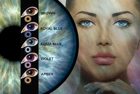 DVA Beautique - One month supply of coloured contact lenses - Save 0%