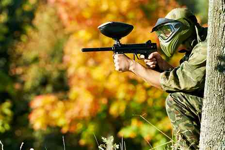 The Paintball Venue - Paintball with Lunch for One - Save 85%