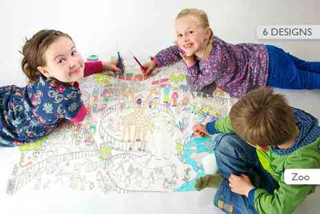 Really Giant Posters - Giant colouring poster - Save 50%