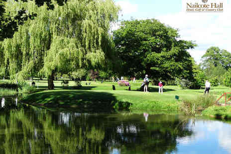 Nailcote Hall - Eighteen Holes of Golf with a Bacon Roll Each for Two - Save 52%