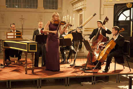 London Concertante - Vivaldi and Bach Concertos by Candlelight Tickets - Save 43%