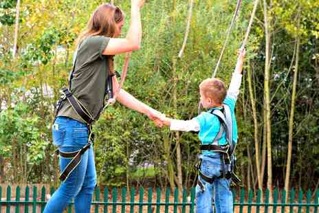 Family Fun Park - Mini Golf and a Access to High Ropes Course  - Save 50%