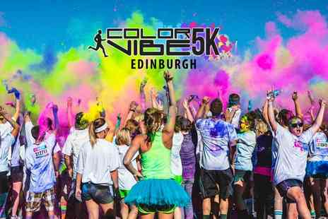 Color Vibe -  5K Run Early Bird Ticket Plus T Shirt - Save 48%
