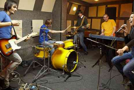 Rubella Music Studio - Rehearsal Three  Hour Session  - Save 60%
