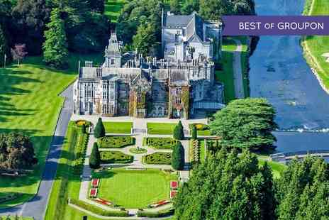 5* Adare Manor - One to Five Nights For Two With Breakfast, Prosecco And Spa Credit - Save 40%