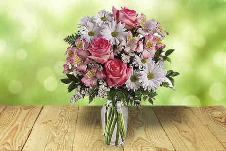 Flowersdelivery4u - Heavenly Dreams Flower Bouquet - Save 54%