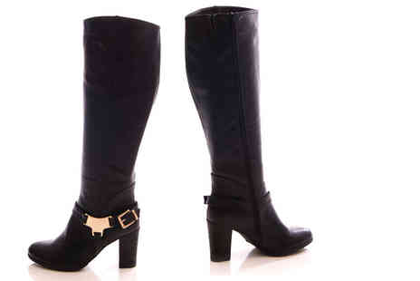 Sole Wish - Pair of heeled riding boots - Save 70%