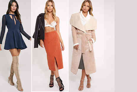 PrettyLittleThing  - £5 for a £10 voucher to spend at PrettyLittleThing.com   - Save 50%