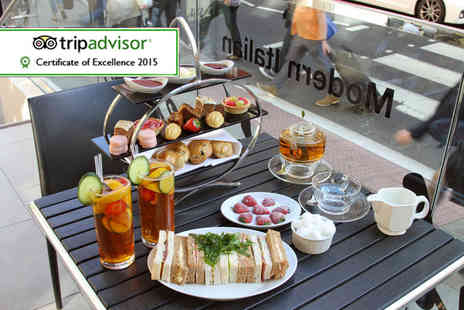 Number Twelve - Afternoon tea for two including a glass of Pimms each - Save 62%