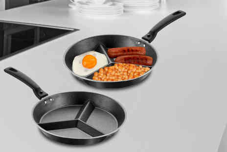 Grids London - Pendeford non stick divider frying pan - Save 63%