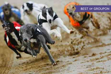 Love the Dogs - Night at the Races with Admission, Race Programme, Choice of Drink and Burger - Save 74%