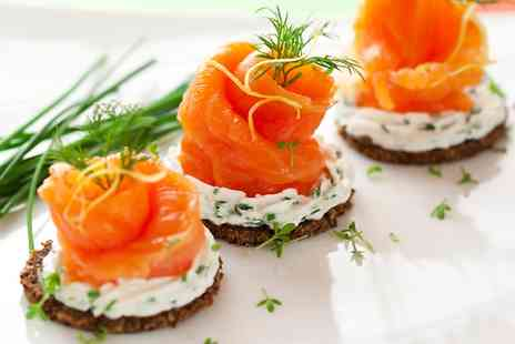 le petit parisien - Choice of French Canapes with Wine - Save 55%