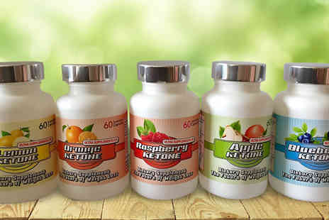 Ultra Supplements  - Three Month Supply of Rainbow Ketones  Available in 5 Fruity Flavours - Save 75%