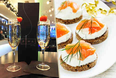 The Hilton Hotel  - Bottle of Bottega Gold Prosecco and canapes for two   - Save 66%