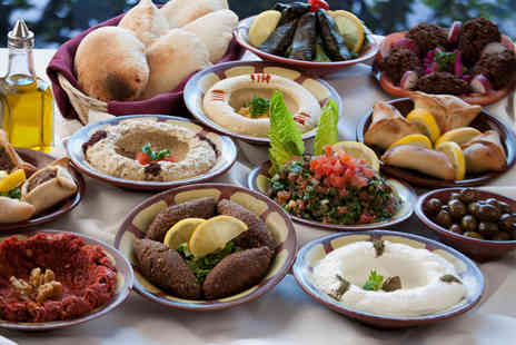 Byblos Cafe - Three Course Lebanese Meal for Two  - Save 33%