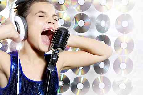 Pick and Mix Studios - Kids Popstar Experience Party for Up to Five or Seven Children - Save 0%
