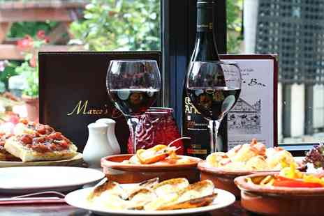 Marcos Bar - Up to £40 to Spend on Food for Two   - Save 50%