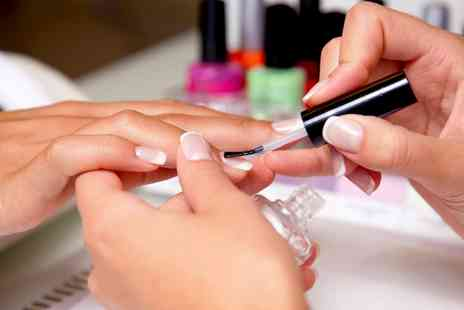 Bow Beautiful - Manicure or Pedicure or Both With Polish  - Save 58%