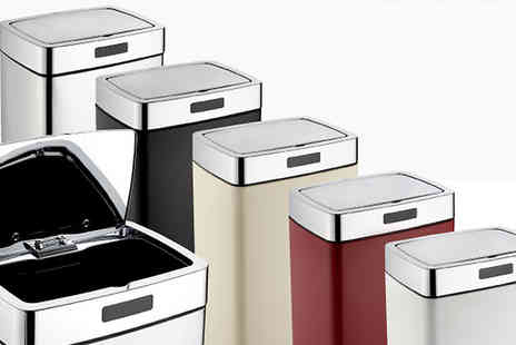 To Your Home - Mono Rectangle Sensor Bins 28L  35L or 45L - Save 73%