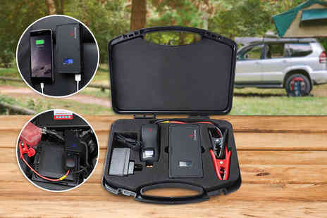 1 By One - 9000mAh smart portable car jump starter  - Save 61%