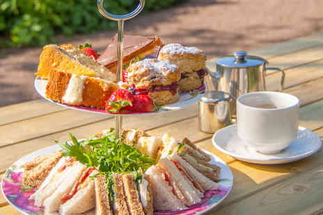 Barnsdale Gardens - Afternoon Tea and Barnsdale Gardens Entry for Two  - Save 54%
