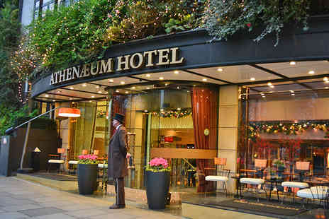 The Athenaeum Spa - Chocolate and Champagne Luxury Spa Experience with Treatments for Two   - Save 56%