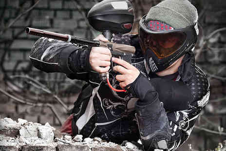 Black Ops Reloaded - Three Hour Indoor Paintballing Session with 100 Paintballs for up to Five - Save 94%