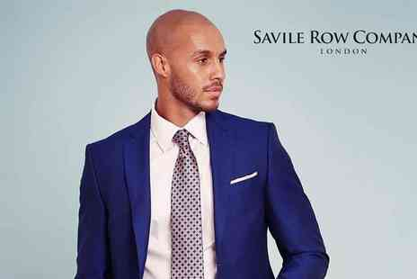 Savile Row - £50 to Spend on Shirts, Suits, Accessories and Casual Wear - Save 50%