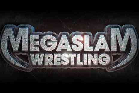 Megaslam American Wrestling - Entry to Megaslam Wrestling for One or Four, 2 to 26 October - Save 55%