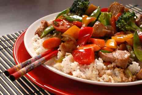 The Big Wok - All You Can Eat Chinese Buffet with a Large Glass of Wine for Up to Four- Save 35%