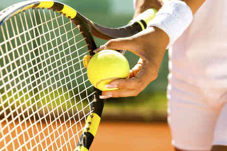 Tennis Fundamentals - Seven Hour Long Improvers or Intermediate Adult Tennis Lessons - Save 46%