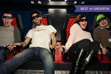 Mark Lurie Entertainment - Ticket  to 5D World Experience For One - Save 40%