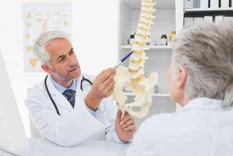SpineCentral - Chiropractic Consultation, Exam and Three Treatments  - Save 84%