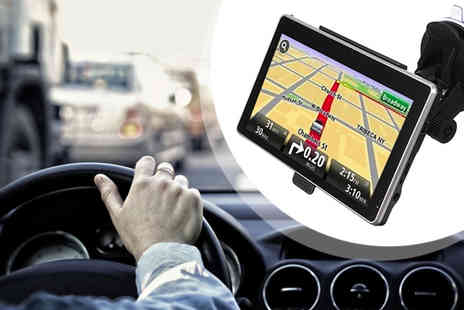 Euro Field - 4.3 inch 4GB Touchscreen Dual Core Sat Nav GPS - Save 57%