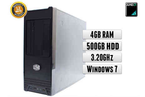 Rapid IT - Intel Core i3 Gaming PC with Windows 7 4GB DDR3  250GB - Save 0%