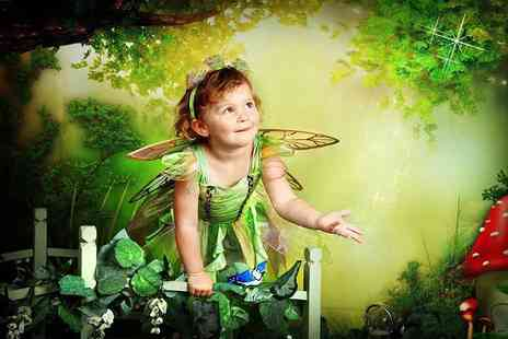 Caroline Anne Photography -  30 minute elves and fairy photoshoot for up to Two children including your favourite image as a jigsaw puzzle to take home   - Save 89%