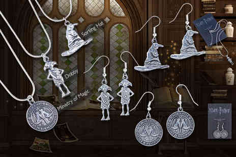 Aspire Fine  - Pair of Harry Potter earrings  - Save 63%