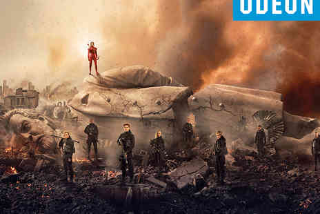 ODEON Cinemas -  Advance Preview Cinema Tickets to The Hunger Games Mockingjay, Part 2 in 3D - Save 0%