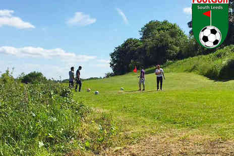 South Leeds FootGolf - Footgolf for One  - Save 67%