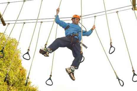 Heatherton park - Tree Tops High Ropes Course for Up to Six - Save 50%