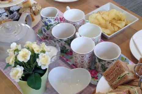 The Deli Cafe  - Traditional Afternoon Tea For Two or Four - Save 0%
