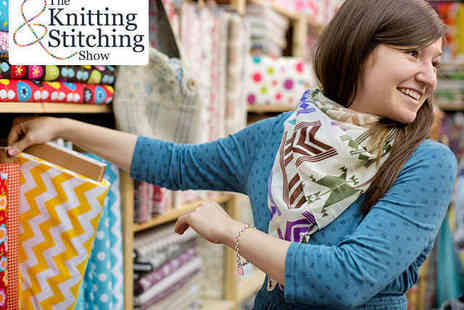 The Knitting & Stitching Show - Entry to The Knitting & Stitching Show for One - Save 0%