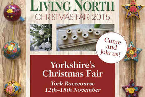 Living North Christmas Fair - Two Tickets to Living North Christmas Fair on November 12, 13, 14, or 15 - Save 50%