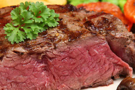 The Chester Bar & Restaurant - Sirloin Steak with Glass of Bubbly Each for Two  - Save 44%