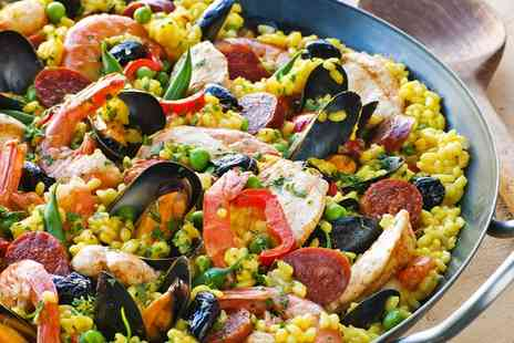 Cafe Ruma - Paella and a Glass of Wine for Two - Save 0%