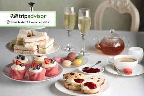 Grange Manor - Champagne afternoon tea for two including sandwiches - Save 53%