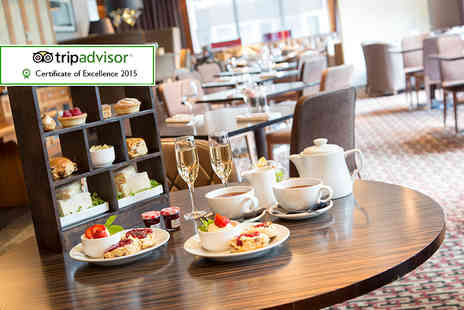 Thistle Kensington Gardens Hotel - Sparkling afternoon tea for two including a glass of Prosecco each  - Save 52%