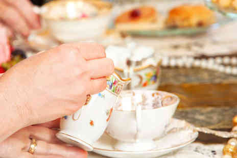 Mad as a Hatter - Afternoon Tea with Bowl of Soup Each for Two - Save 44%