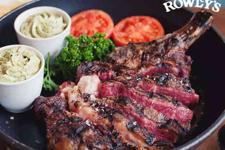 Rowleys - Chateaubriand with Vegetables and Unlimited Fries for Two  - Save 43%